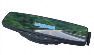 China Bluetooth Handsfree Car Kit Rearview Mirror supplier