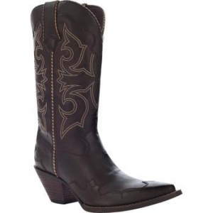 China Crush by Durango Women's 12 Brown Rock 'n Scroll Western #RD5513 on sale