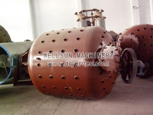 China VC353/356/357 Vacuum Dryer for polyester staple fiber production line on sale