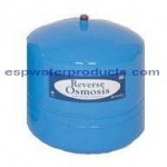 RO2000 20 Gallon Storage Tank - 15 D x 30 H with 3/4 Connector - Color Blue