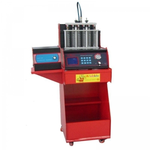 China Fuel Injector Analyzer & Cleaner LCD electronic Injection Analyzer on sale