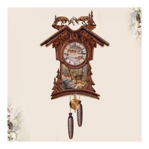 China Cookoo Clocks Timeless Nobility Collectible Cuckoo Clock With Deer Art on sale