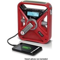 ARCFRX3WXR American Red Cross FRX3 Hand Turbine AM/FM Weather Radio with Smartphone Charger