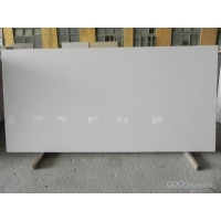 China pure white artificial quartz slab Blocks and Slabs on sale