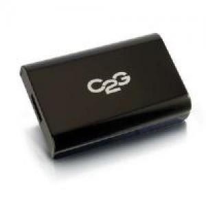 China C2g usb 3.0 to displayport audio/video adaptor (black) on sale