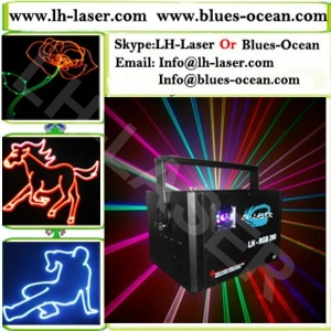 China MINI 5W RGB with SD Card laser light, full color laser light,lighting equipments(LH-RGB276) on sale