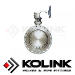 China Triple Eccentric Butterfly Valve (Flanged Type) on sale