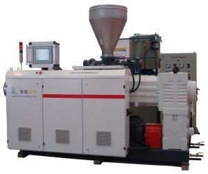 China Conical Double Screw Extruder Sjz45/90 on sale