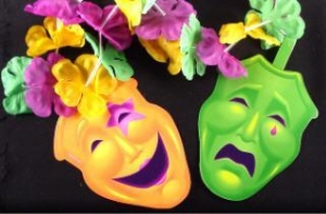 China Multiple quantities/pricing available Mask and Flower Garland on sale