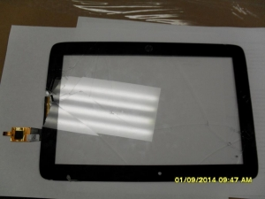China HP Slate 10 LCD screen + touch digitizer Combo on sale