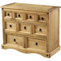 Corona Merchant Chest of Drawers