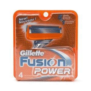 China Gillette Fusion Power - 4 Cartridges on sale
