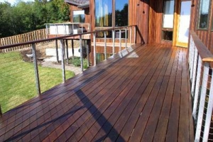 China IPE Wood Decking California on sale