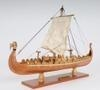 China Drakkar Dragon Viking Ship Wooden Model Small 15 Built Sailboat on sale