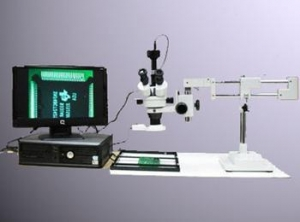 China Trinocular Video Microscope SX4TD on sale