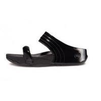 FitFlop Walkstar Slide Fitflop Walkstar Slide Leisure Black Sandal For Women