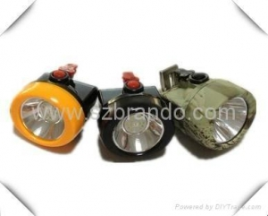 China KL2.5LM A Cordless Safety Caplamp with 2.5Ah Li-ion battery on sale