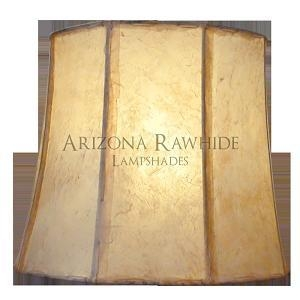 China Barrel Rawhide Shades BRLXL Barrel - Rawhide Off-White Shade 14H x 16W (13W Top) on sale