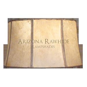 China Barrel Rawhide Shades BRL14 Barrel - Rawhide Off-White Shade 8.5H x 14W (12.5W Top) on sale