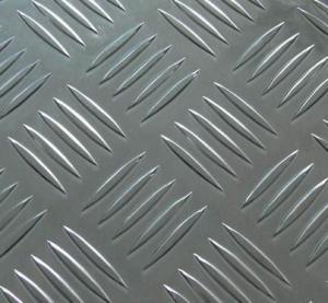 China Aluminium Composite Panel Aluminium 5-bar tread Plate on sale