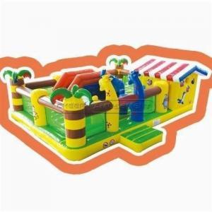 China Cheer Amusement Jungle Themed Inflatable Fun City Indoor Playground Amusement Equipment Supply on sale