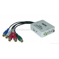 Mini YPbPr to AV Converters Support Resolution HD Input from 480I up to 1080P
