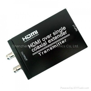 China HDMI Over Single Coax Extenders send HDMI signals Over Coaxial cable up to 100m on sale