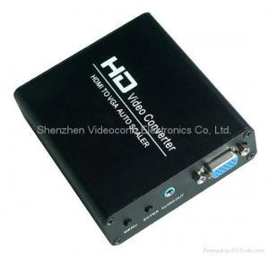 China HDMI to VGA Scaler Converters Box on sale