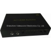 China 4x1 HDMI Switchers Support 4Kx2K With IR and ARC and HEC Functions for sale