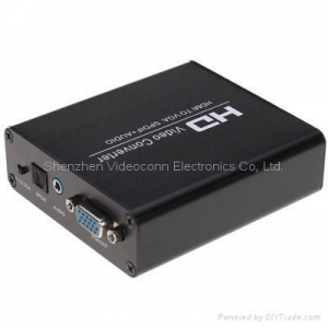 China HDMI to VGA /Spdif Converters (Bypass) on sale