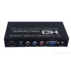 China VGA+Component to HDMI Converter 1080P Scaler Box for sale
