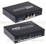 China AV+HDMI to HDMI Converter convert 480I(NTSC)/576I(PAL) format signal to 720/1080 on sale