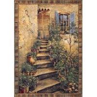 Tuscan Villa II Large Sienna tapestry