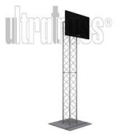 China MONITOR STANDS 8 Ft UT10 Box Truss Monitor Stand with TV Mount on sale