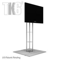 China MONITOR STANDS 4 Ft TK6 Truss Monitor Stand with 29in base, with Monitor Mount, Under 30 on sale