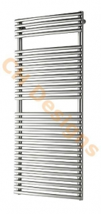 China Angelina Highly Polished Mirror Effect 304 Stainless Steel Designer Towel Rail 770 (H) x 500 (W) on sale