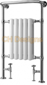 China Silas Traditional Heated Bathroom Radiator (H) 945mm (W) 575mm on sale