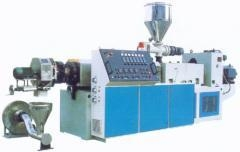 China SJ series high efficiency plastic double screw extruder on sale