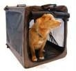 China Dog Cages, Crates & Dollies Bergan Canine Crate Extra Large Black / Tan 45 x 34 x 36 on sale
