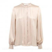China Satin Crepe Silk Blouse on sale