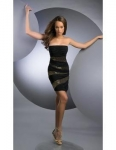 Black dresses Sexy black with gold sequins beaded above knee length cocktail dresses sd-070