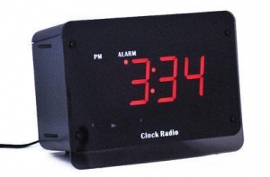 China Night Vision Alarm Clock Hidden Camera on sale