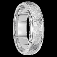China All Wedding Bands 4 mm 14k White Gold Handcrafted in U.S. - Sao Paulo(4) on sale