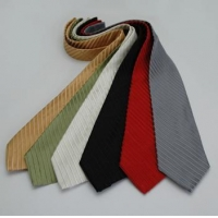 China Diagonal Tone-on-Tone Woven Silk Stripe Tie on sale