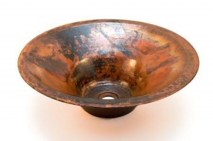 China Rodin Bathroom Copper Sink, Masters of the Arts Collection (Double Wall) on sale