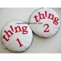 Dr Seuss Thing 1 and 2 Pillow Set to Match Pottery Barn Kids Bedding ~ Custom Made for You