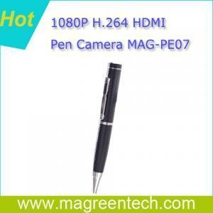 China 1080P H.264 HDMI output camera pen recorder on sale