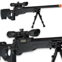 China Sniper Rifle AWS 6mm Airsoft Gun w/ Accessories[TS-ASG1147] on sale