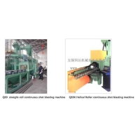 Shot blasting Machine Product Q69 Series Roller continuous shot blasting machine