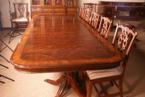 China Drexel Robinson Large 11 ft Long Mahogany Conference Table, MSRP $8,000 on sale